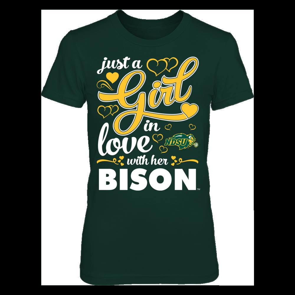 Girl Inlove - North Dakota State Bison Front picture
