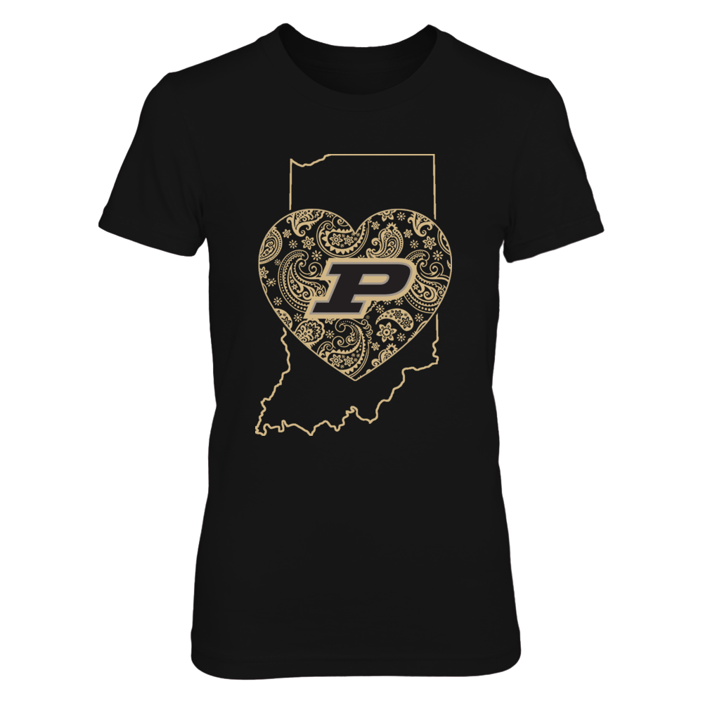 Purdue Boilermakers - State in my heart Front picture