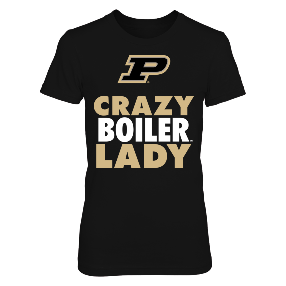 Crazy Lady - Purdue Boilermakers Front picture