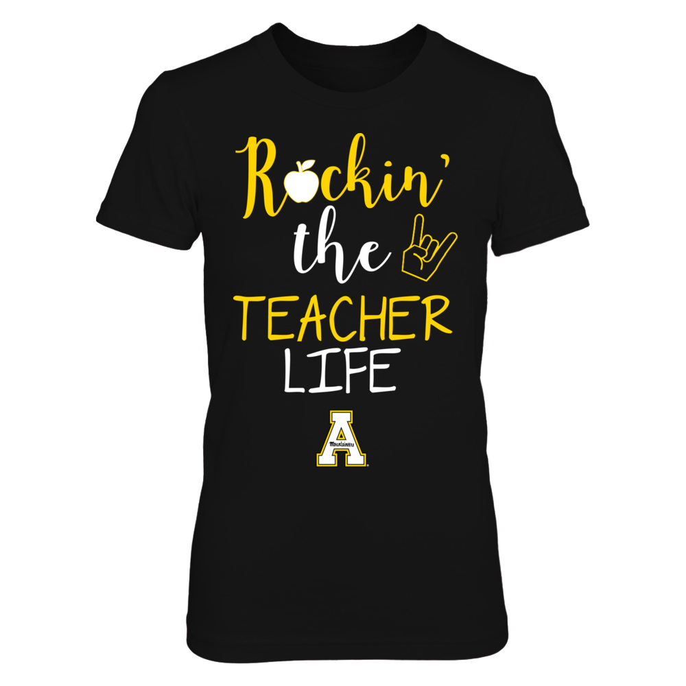 Appalachian State Mountaineers - Rockin' The Teacher Life - Apple Front picture