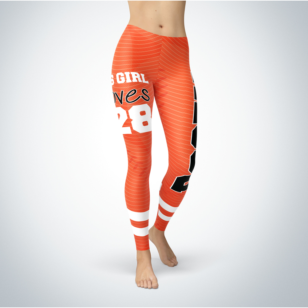 This Girl Love Leggings - Buster Posey Front picture