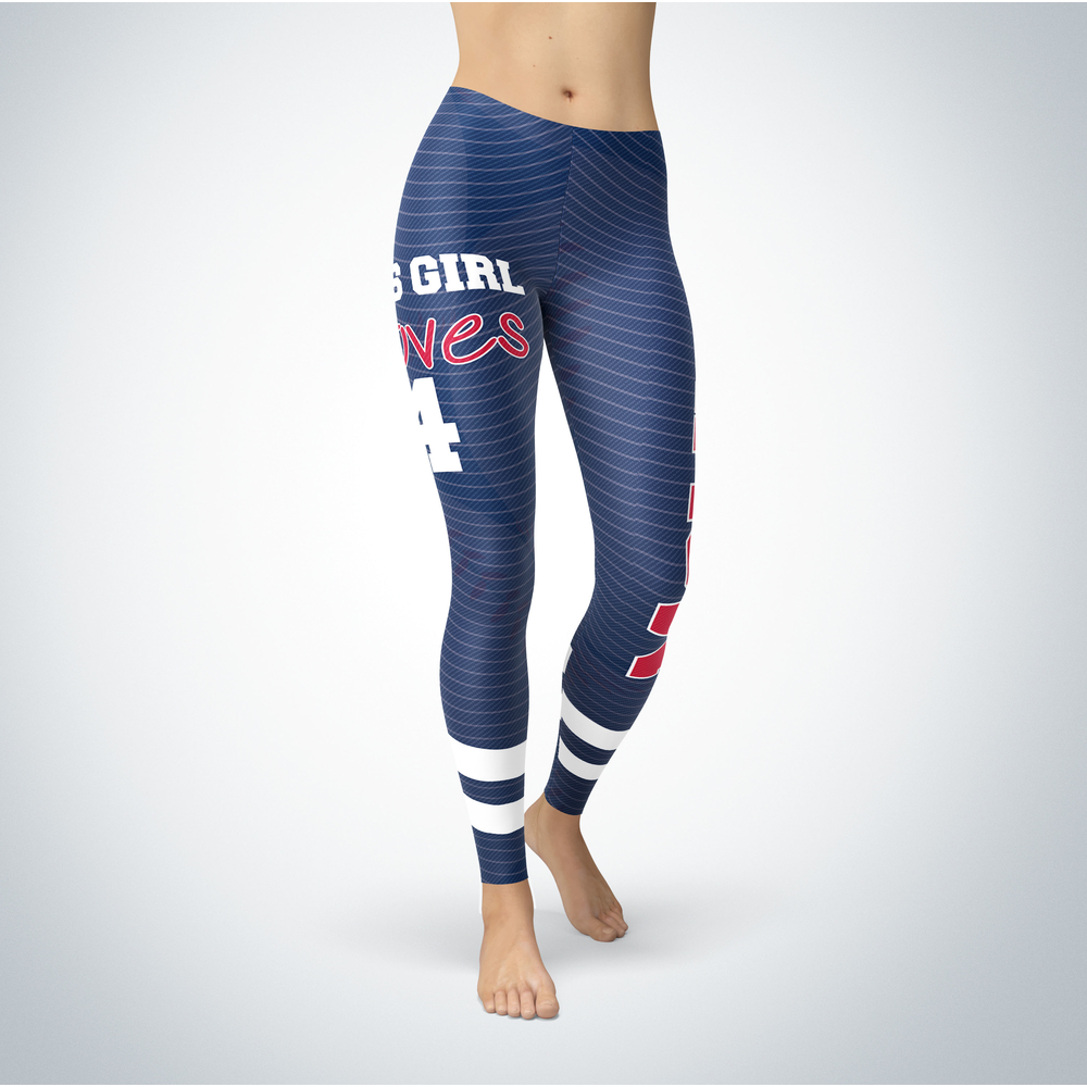 This Girl Love Leggings - Yadier Molina Front picture