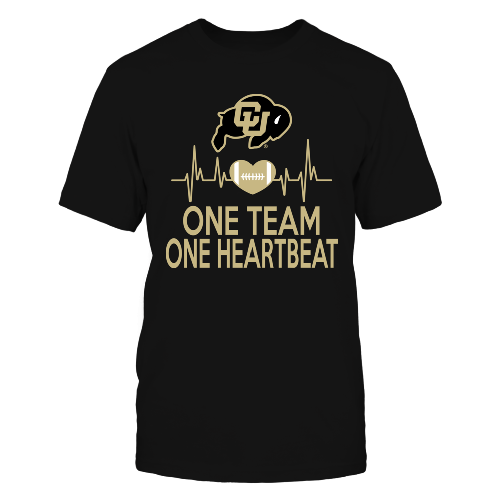 Colorado Buffaloes One Team One Heartbeat Front picture