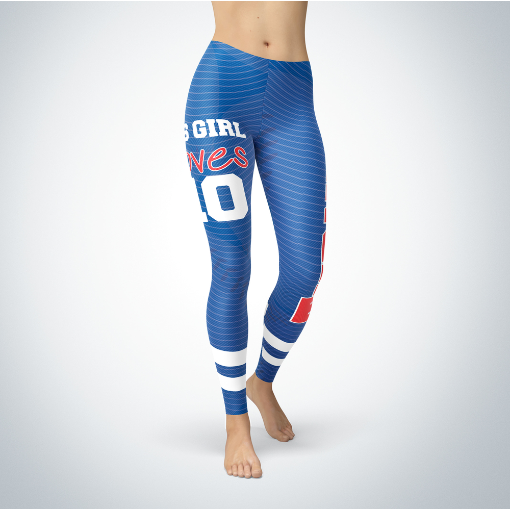 This Girl Love Leggings - Justin Turner Front picture