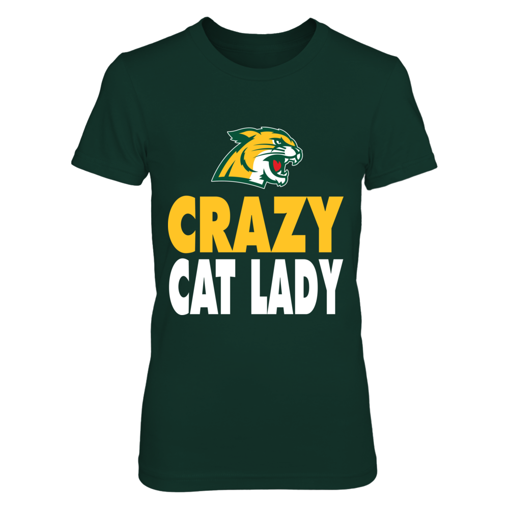 Northern Michigan Wildcats - Crazy Cat Lady Front picture