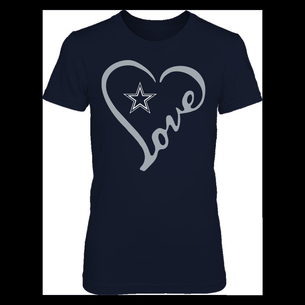 Dallas Cowboys - Heart Love Front picture