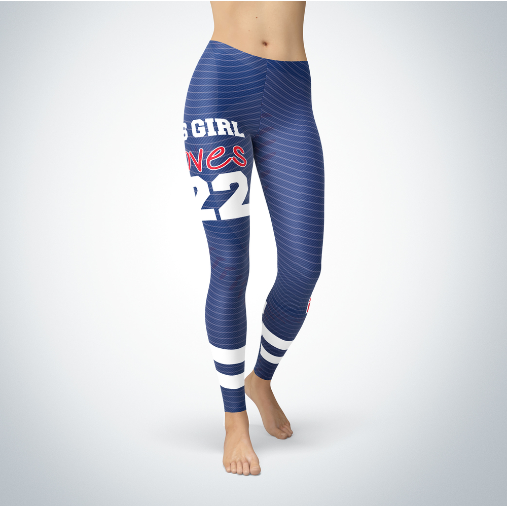This Girl Love Leggings - Clayton Kershaw Front picture