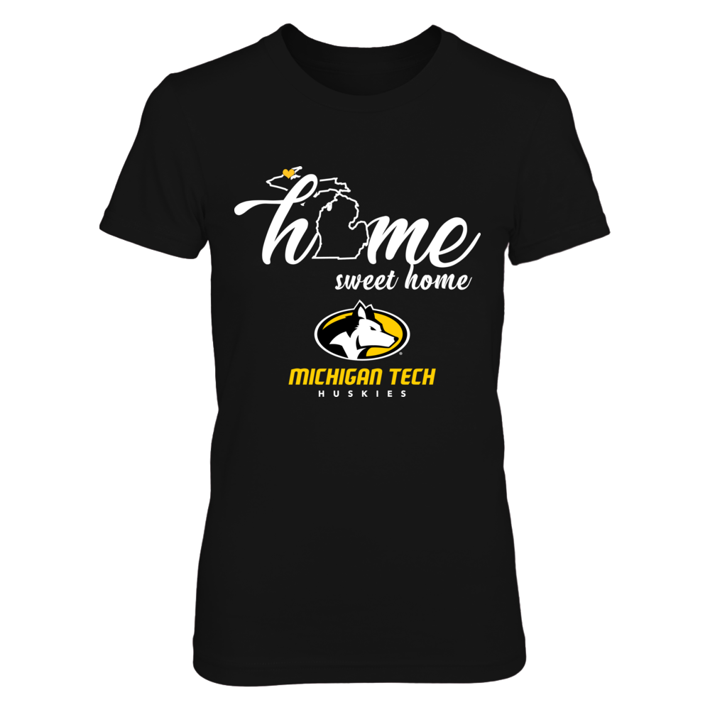 Michigan Tech Huskies - Home Sweet Home - State Outline Front picture