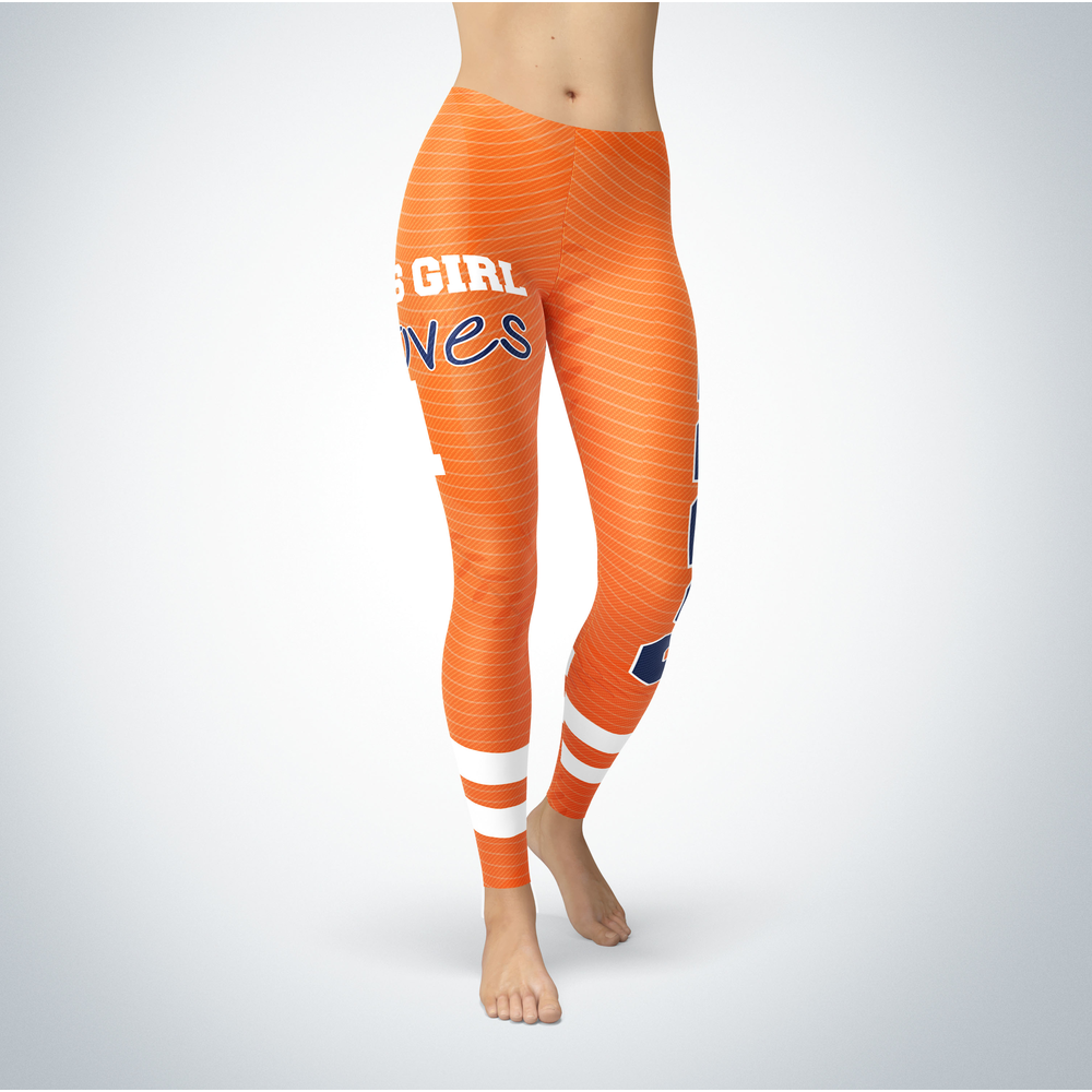 This Girl Love Leggings - Carlos Correa Front picture
