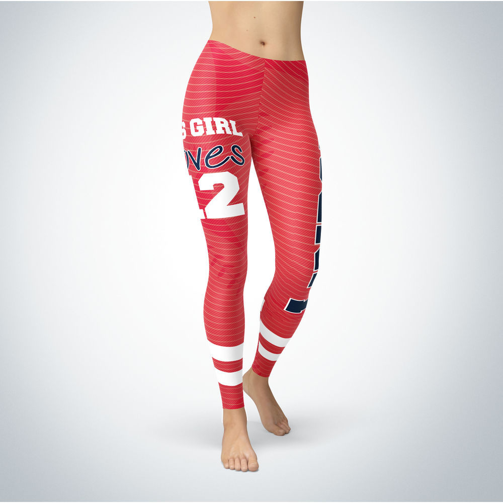 This Girl Love Leggings - Francisco Lindor Front picture