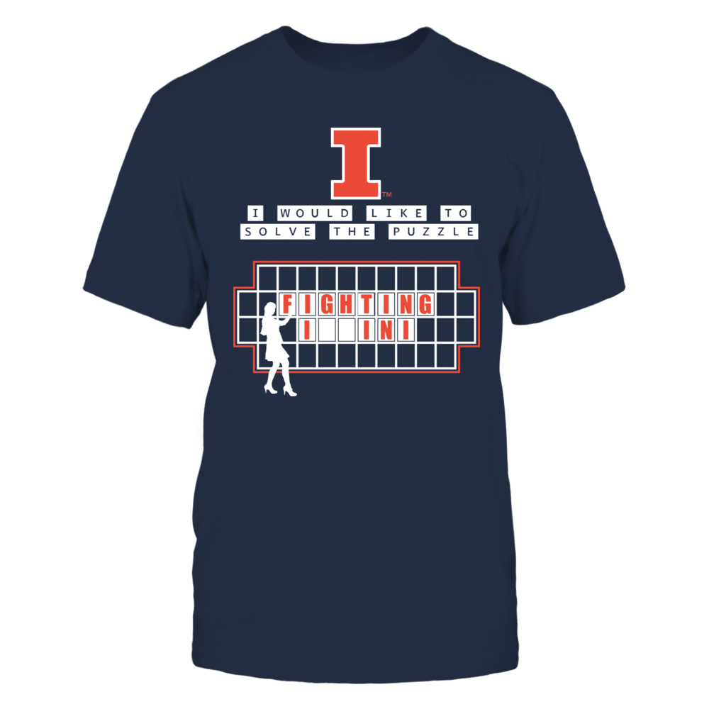 Illinois Fighting Illini - Solve The Puzzle Front picture