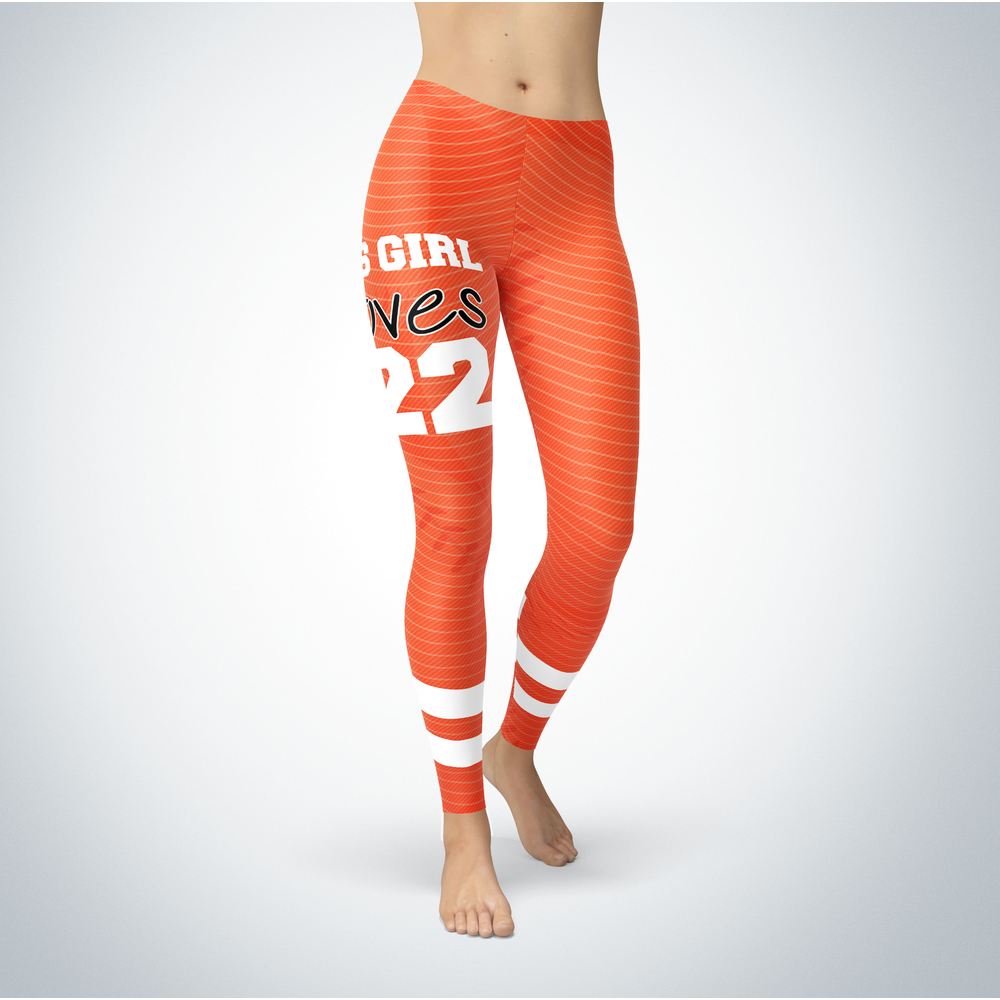 This Girl Love Leggings - Andrew McCutchen Front picture