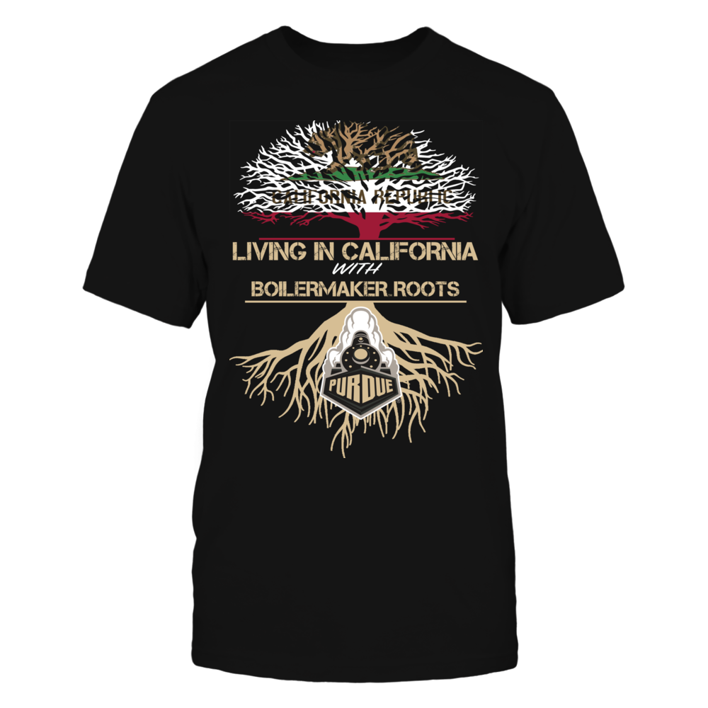 Purdue Boilermakers - Living Roots California Front picture