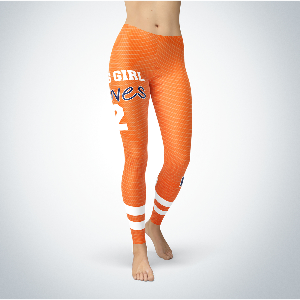 This Girl Love Leggings - Alex Bregman Front picture