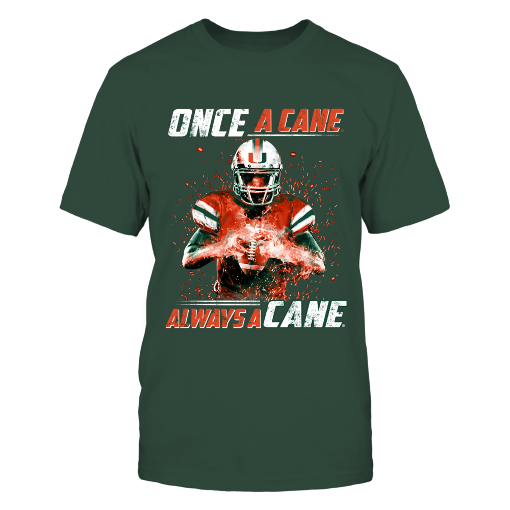 Miami Hurricanes - Fire Player Front picture