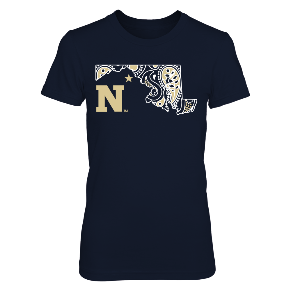 Navy Midshipmen - Paisley State Front picture