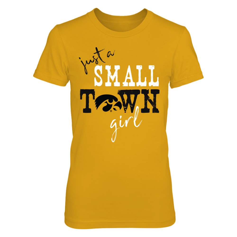 Iowa Hawkeyes - Small Town Girl - Logo - Gold Front picture