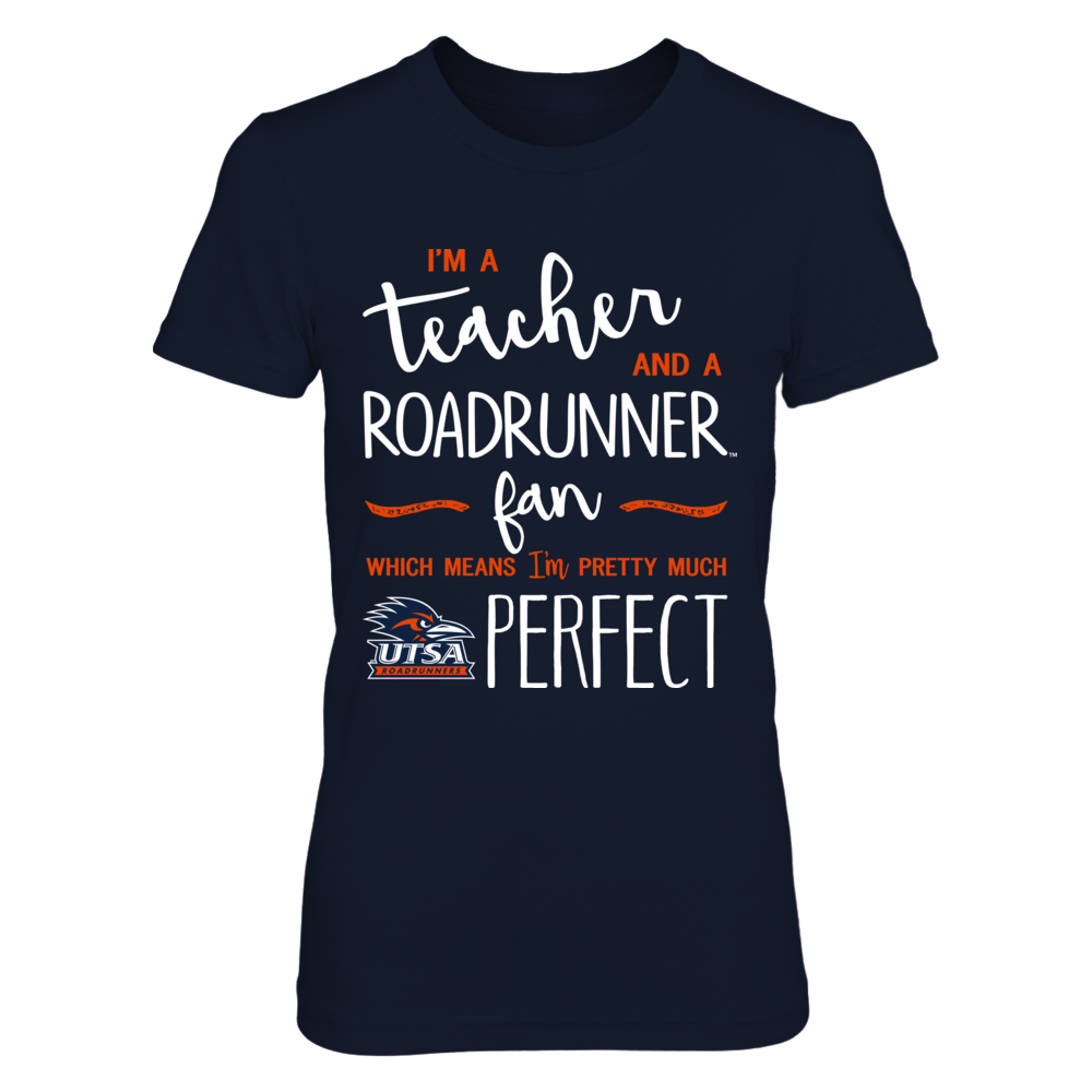 UTSA Roadrunners - Perfect Teacher - IF-IC13-DS27 Front picture