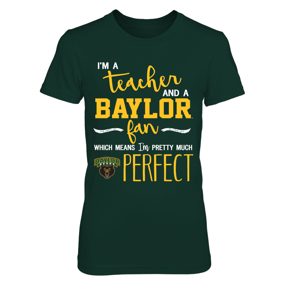 Baylor Bears - Perfetc Teacher Front picture