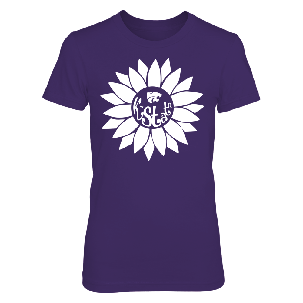 Kansas State Wildcats - Sunflower Monogram Front picture