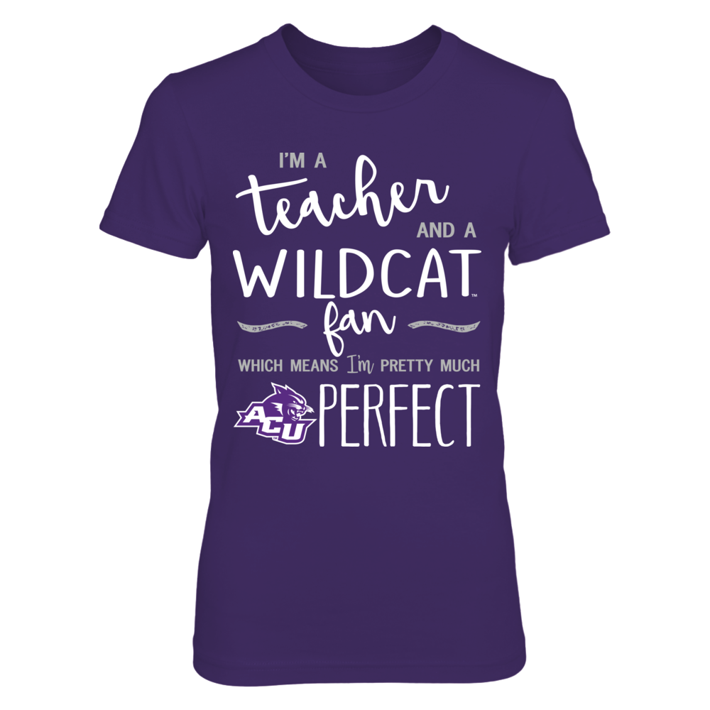 Abilene Christian Wildcats - Perfect Teacher Front picture
