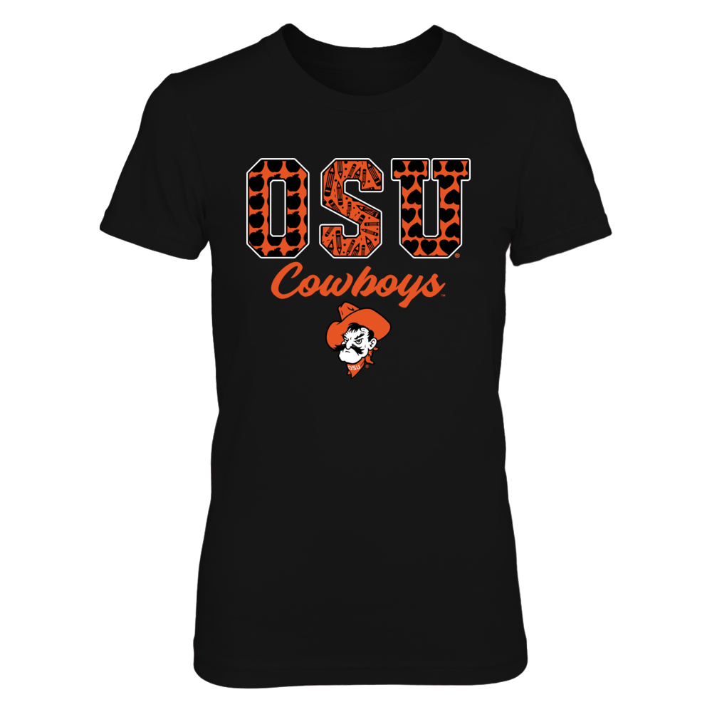 Oklahoma State Cowboys - Pattern Letter - Teacher Front picture