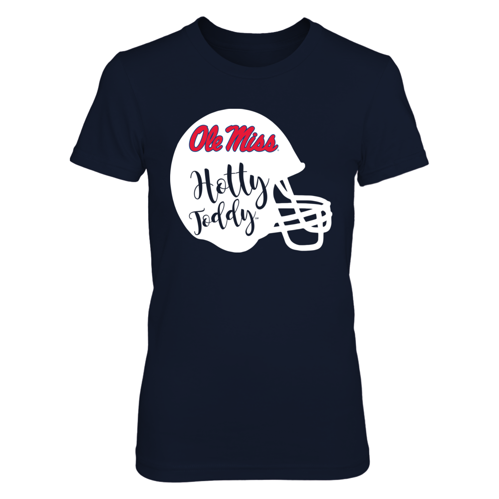 Ole Miss Rebels - Slogan Helmet Front picture