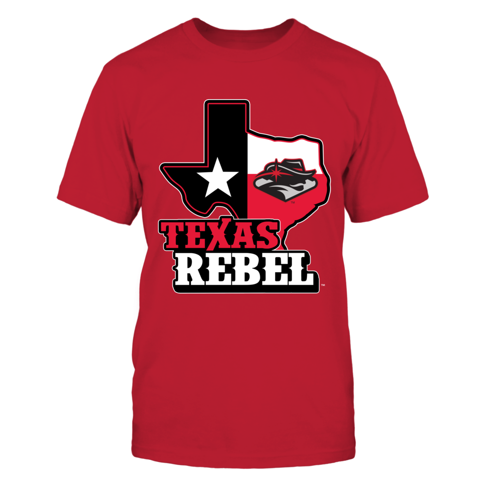 UNLV Rebels - Texas Map Mascot Front picture
