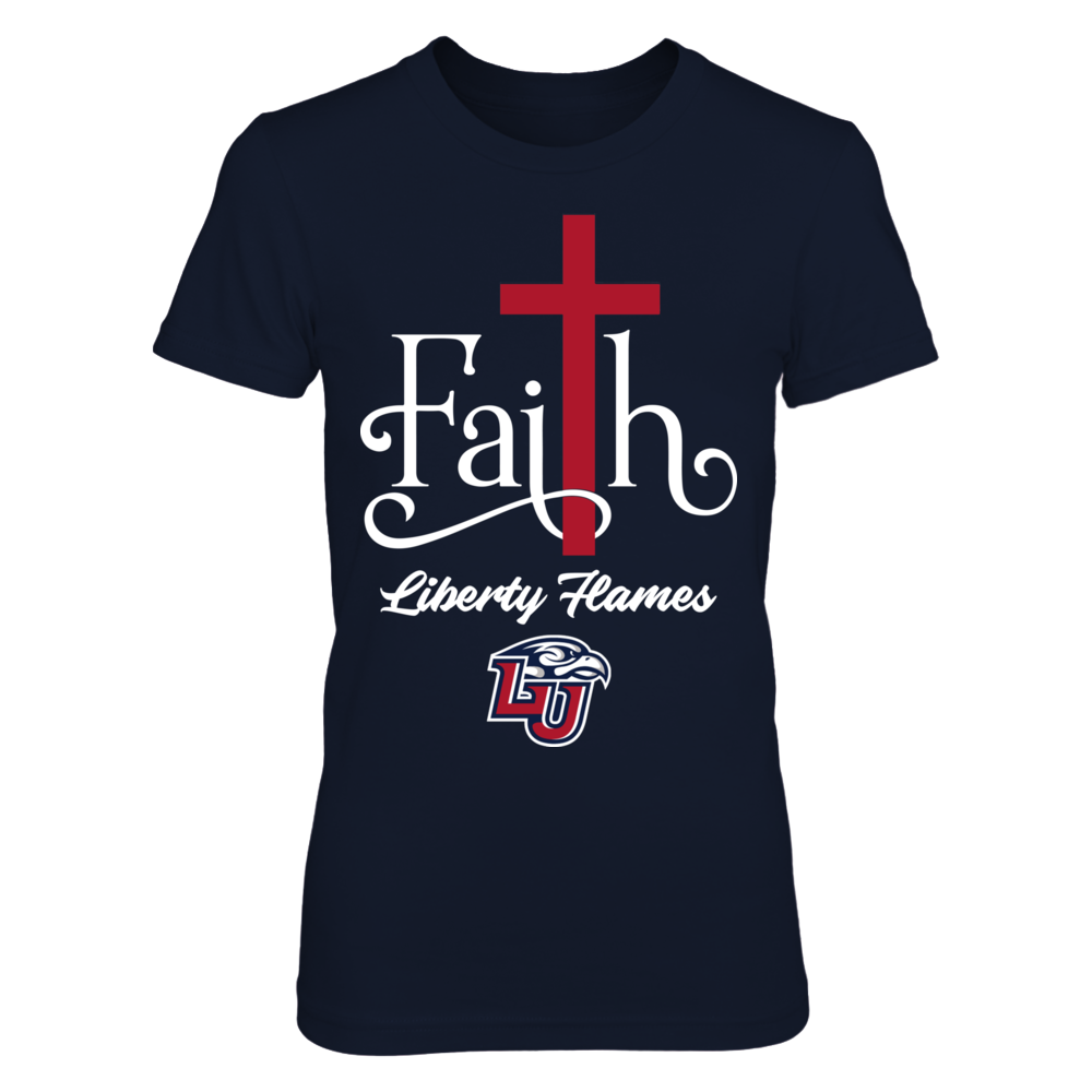 Liberty Flames - Faith - Cross Front picture
