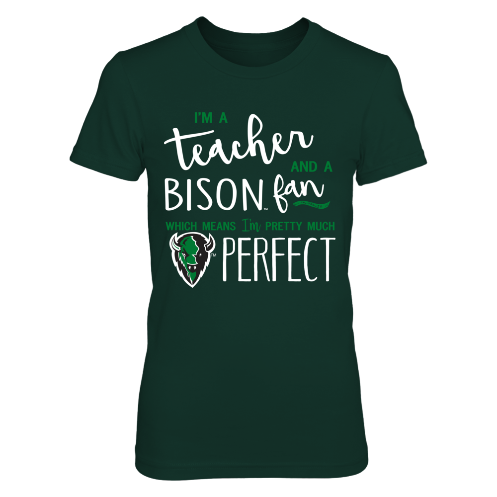 Oklahoma Baptist Bison - Perfect Teacher Front picture
