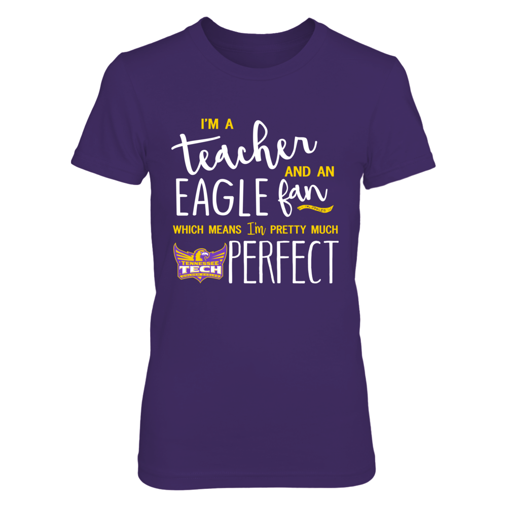 Tennessee Tech Golden - Perfect Teacher Front picture