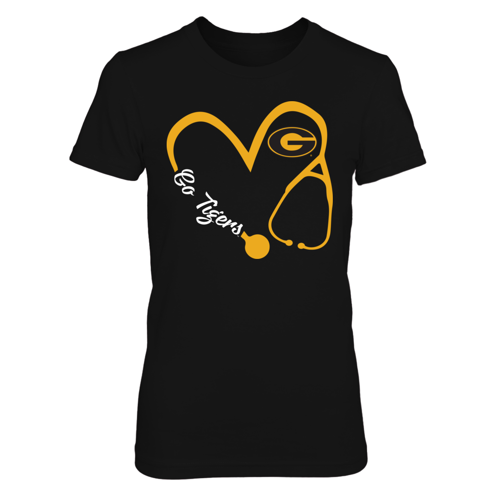Grambling State Tigers - Heart 3/4 - Nurse Front picture