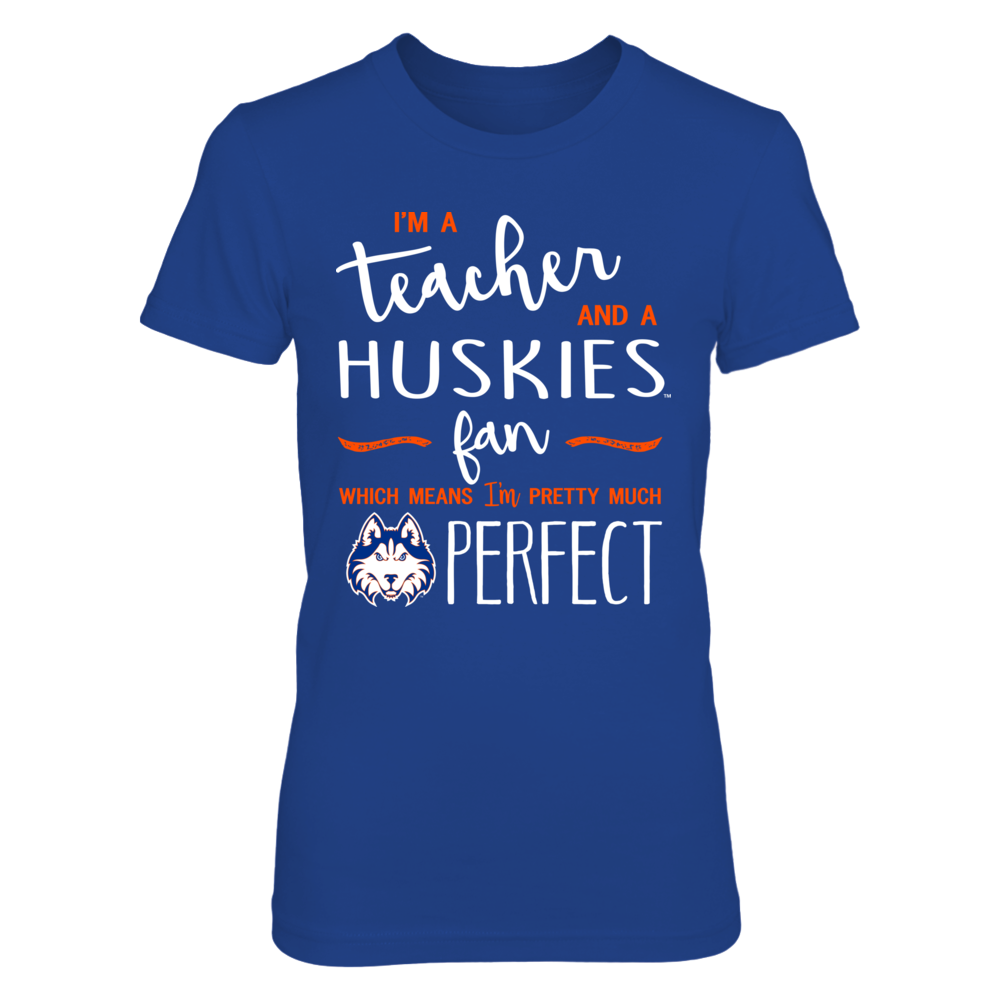 Houston Baptist Huskies - Perfect Teacher Front picture