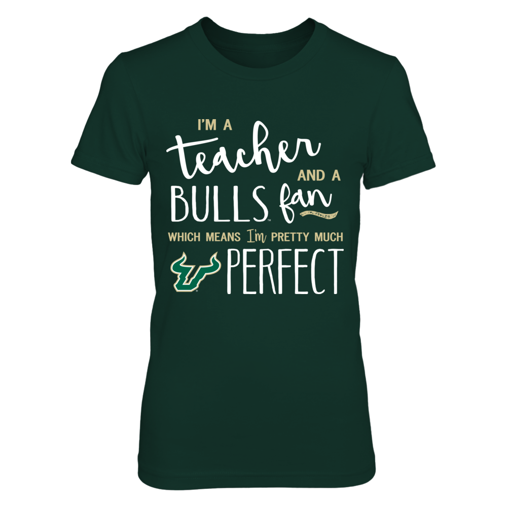 South Florida Bulls - Perfect Teacher Front picture