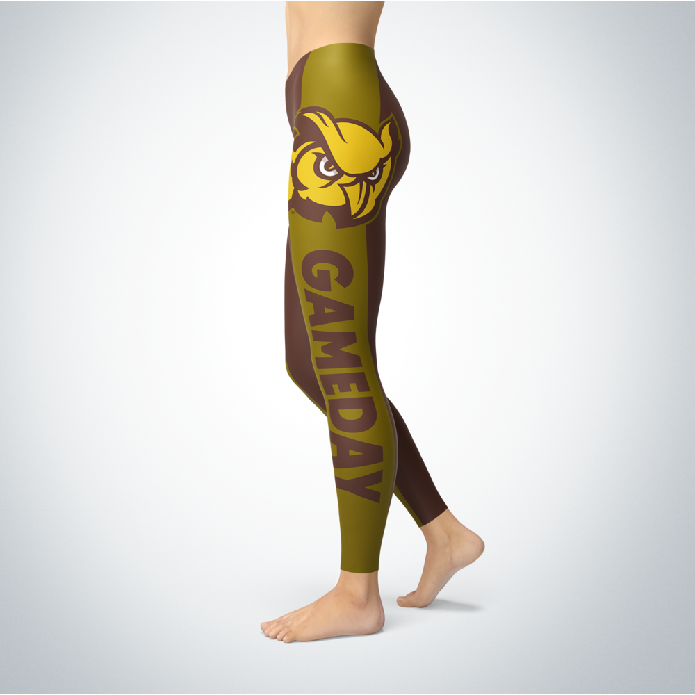 Game Day Leggings - Rowan Profs Back picture