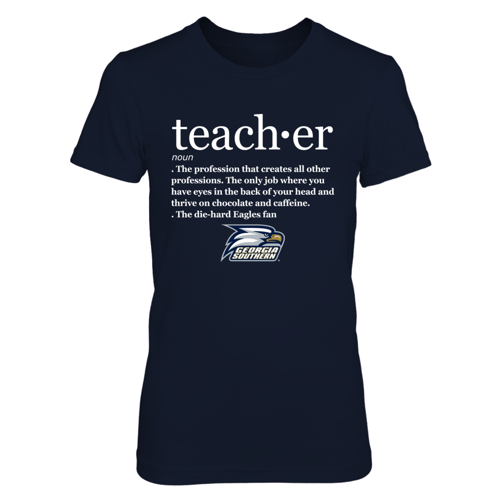 Georgia Southern Eagles - Teacher Definition Front picture