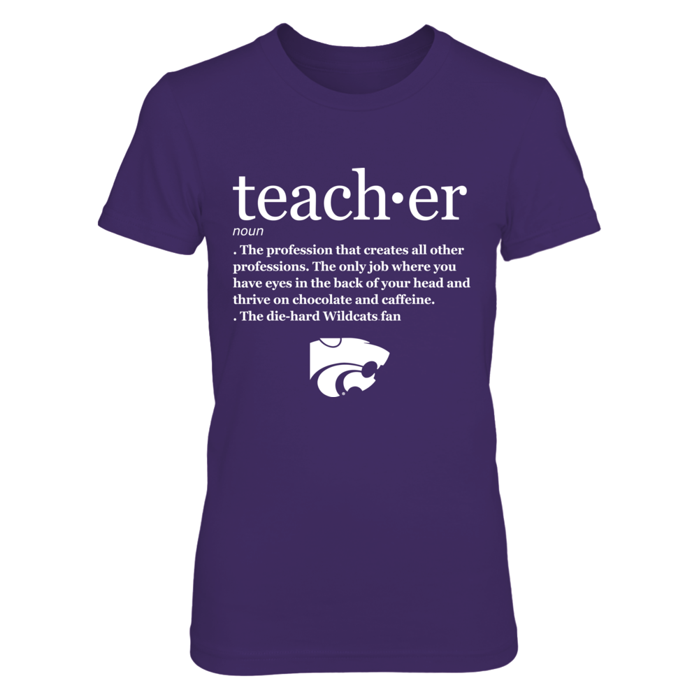 Kansas State Wildcats - Teacher Definition Front picture