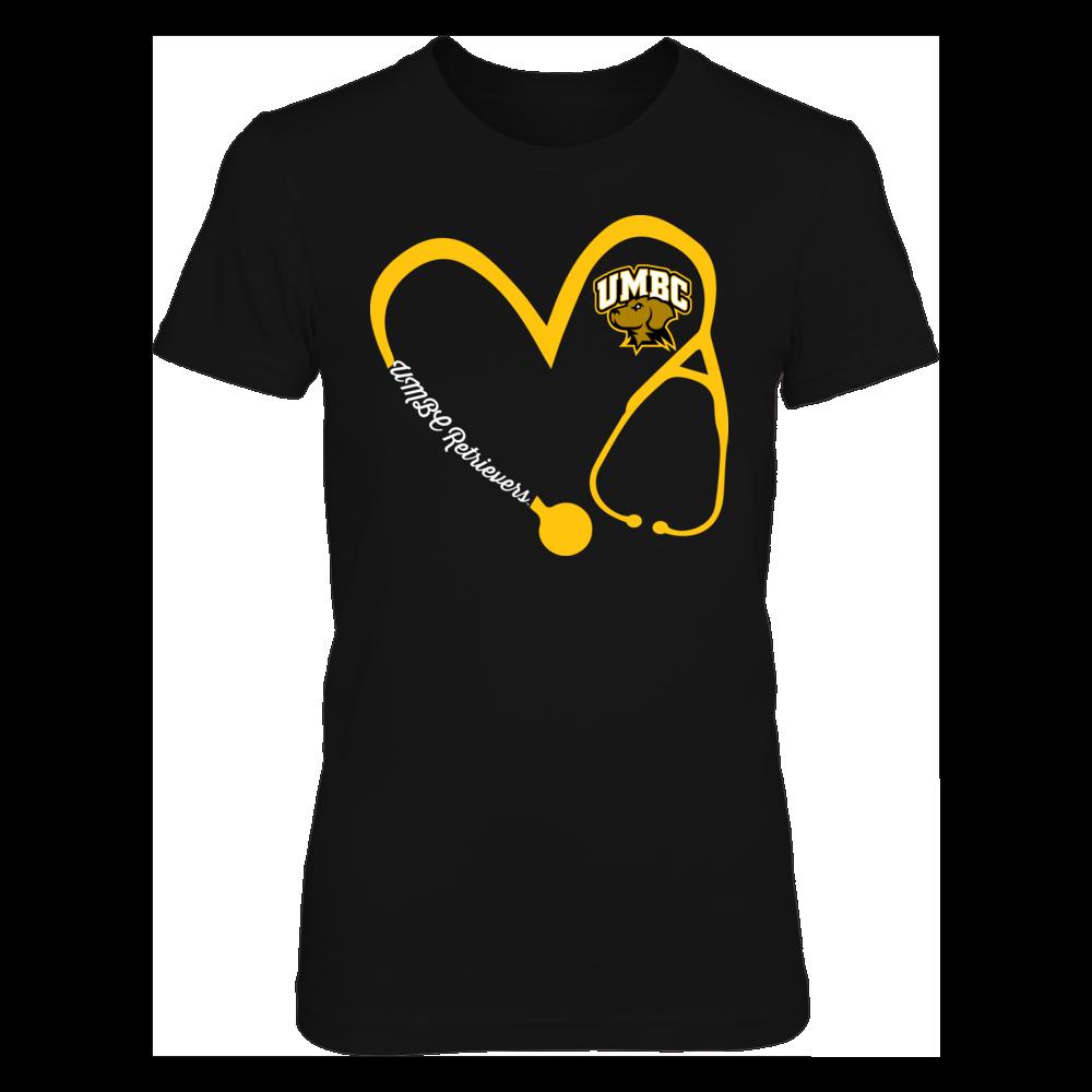 UMBC Retrievers - Heart 3/4 - Nurse Front picture