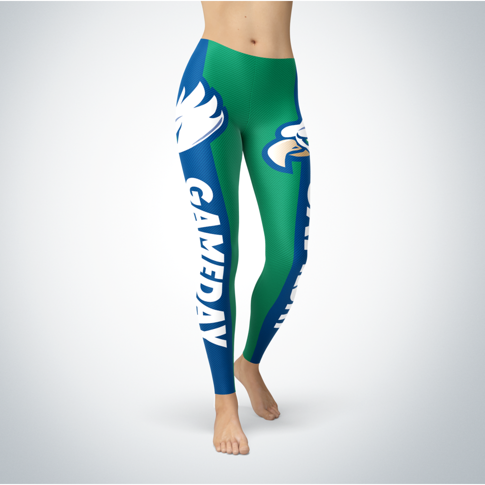 Game Day Leggings - Florida Gulf Coast Eagles Front picture
