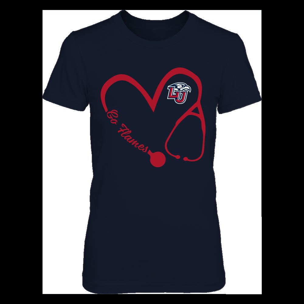 Liberty Flames - Heart 3/4 - Nurse Front picture