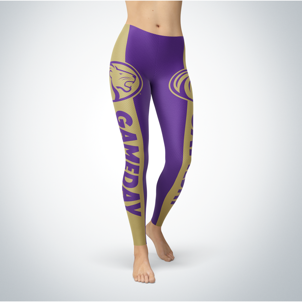 Game Day Leggings - North Alabama Lions Front picture