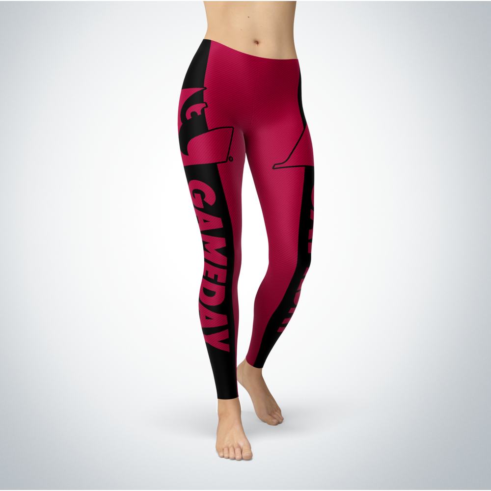 Game Day Leggings - Wisconsin-La Crosse Eagles Back picture