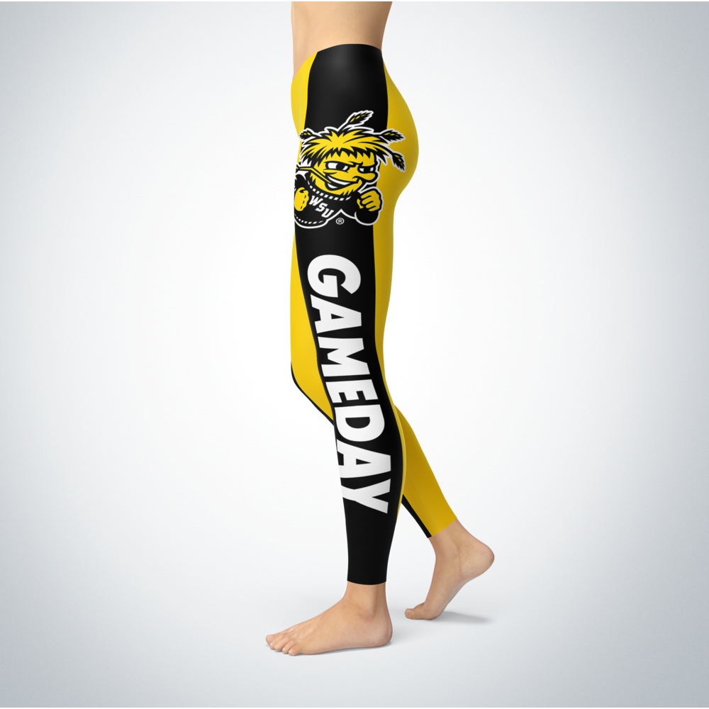 Game Day Leggings - Wichita State Shockers Back picture