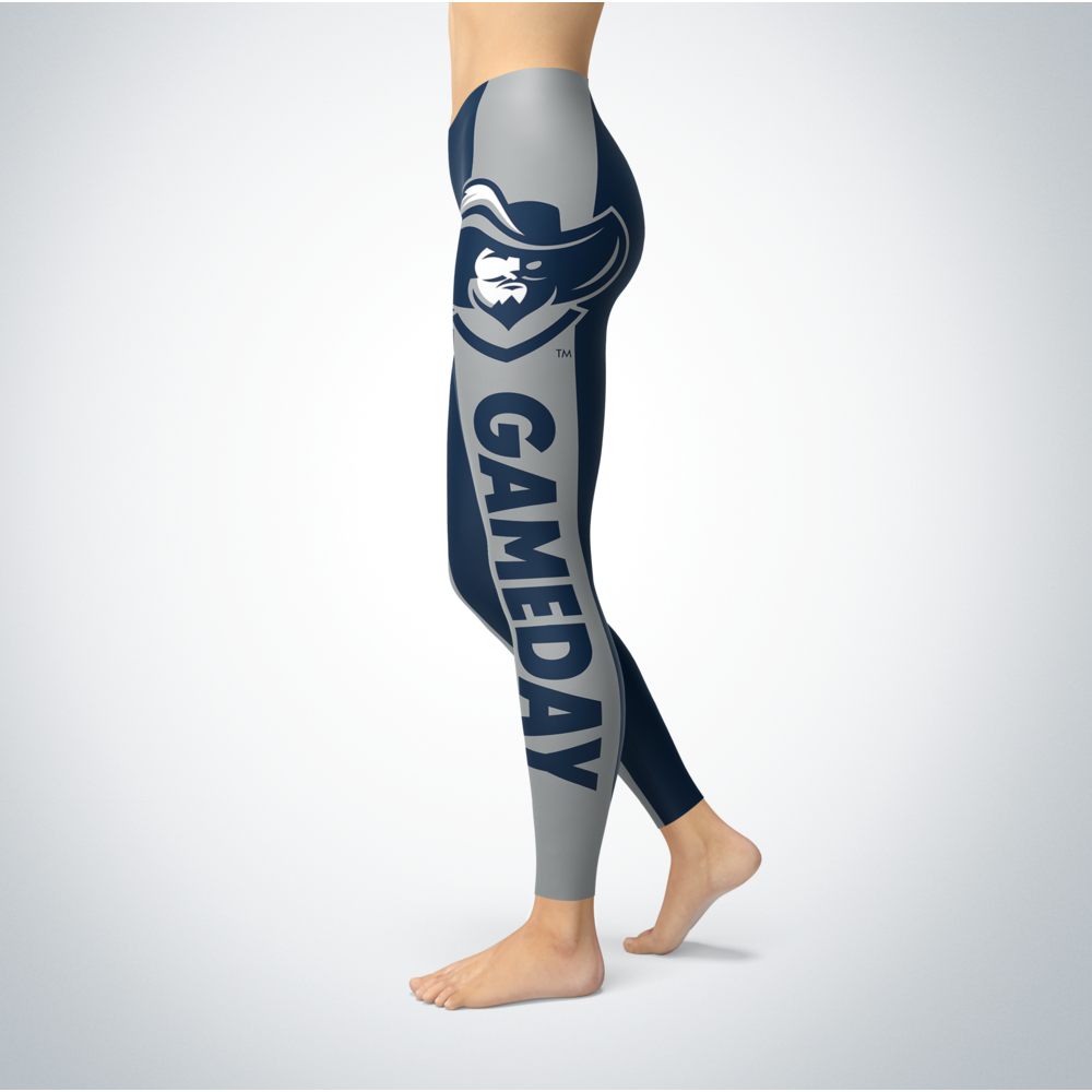 Game Day Leggings - Xavier Musketeers Back picture