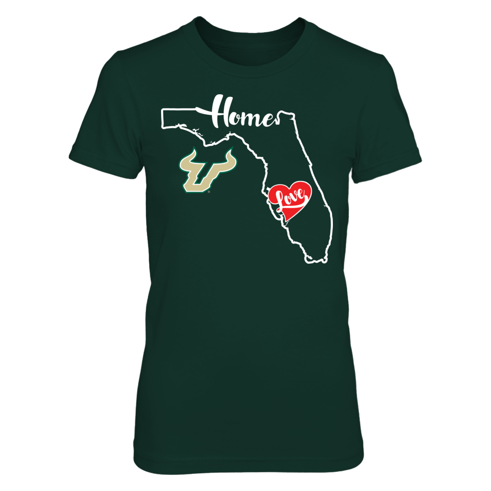 South Florida Bulls - State Outline Front picture