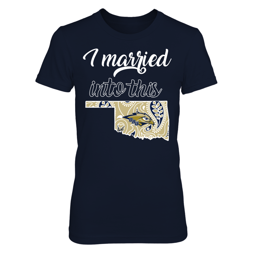 Oral Roberts Golden Eagles - Married Into Front picture