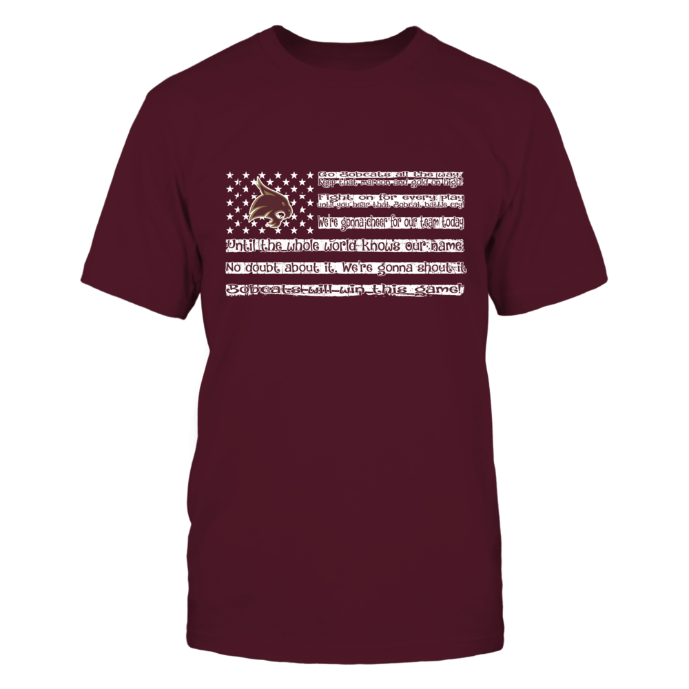 FanPrint Kansas Jayhawks T-Shirt Warning:Game in Progress T-Shirt