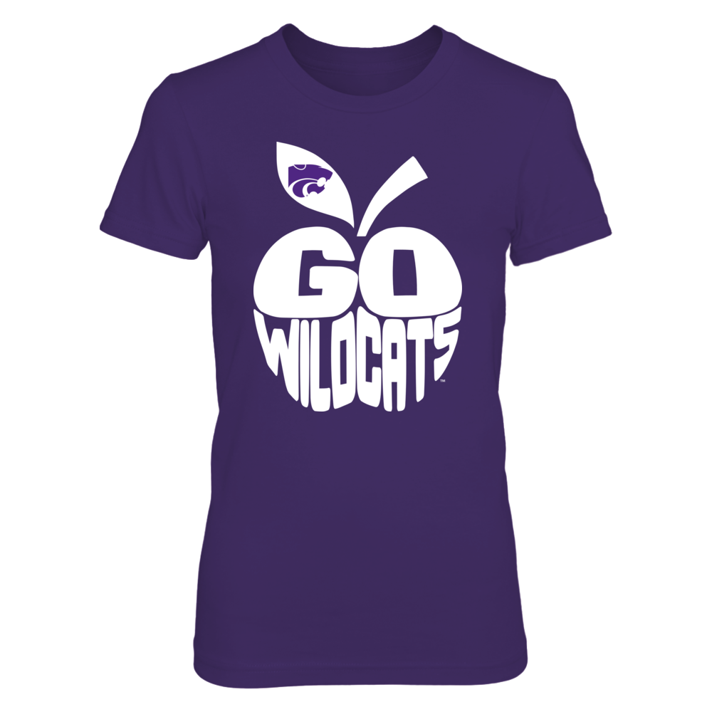 Kansas State Wildcats - Slogan Inside Apple Front picture
