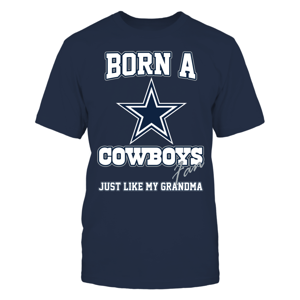 Dallas Cowboys Born a Cowboys fan just like my grandma - Limited Edition FanPrint