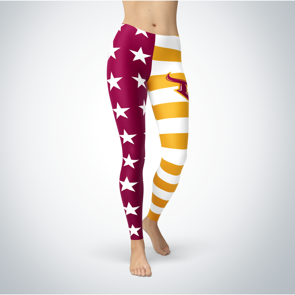 Star And Stripes - Cal State Dominguez Hills Toros Front picture